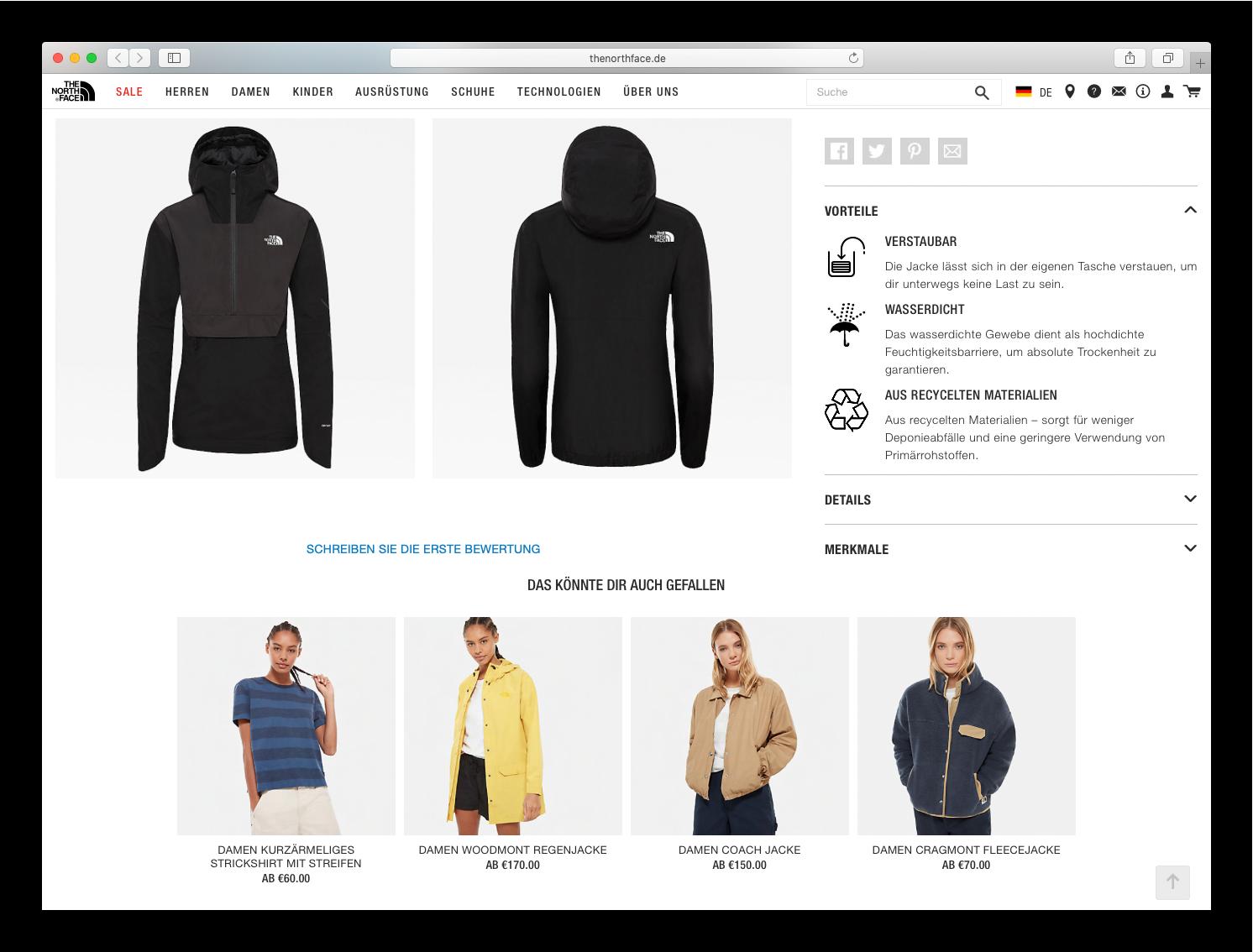 Northface-produktempfehlungen-jacke