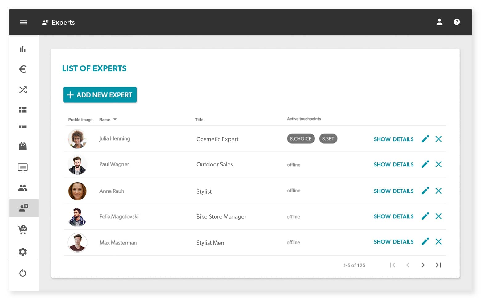 8select MCON List of Experts