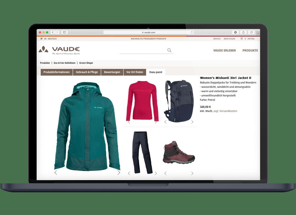8select VAUDE Product Set